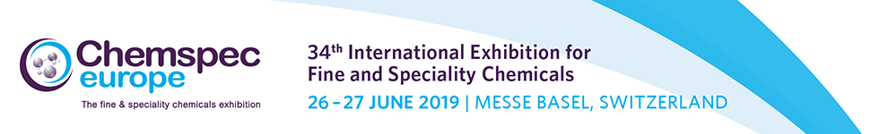 Meet us at Chemspec in Basel, 26 06  - 27 06 2019